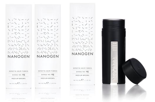Nanogen Keratin Hair Thickening Fibres 3 x 30g = 90g