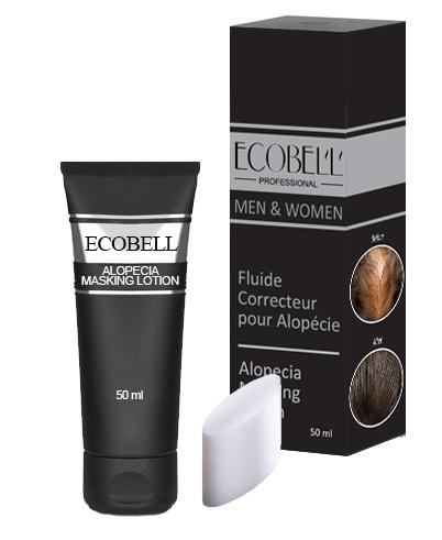 Ecobell Scalp Concealing masking Lotion 50ml DARK BROWN