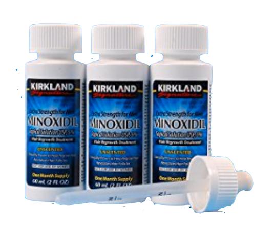Kirkland Minoxidil 5% Topical Extra Strength 3 Months Supply