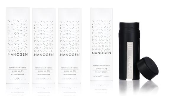 Nanogen Keratin Hair Thickening Fibres 4 x 30g = 120g