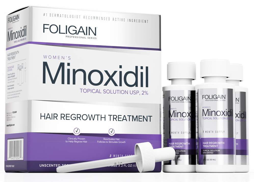 Minoxidil 2% Topical For Women 3 Months Supply